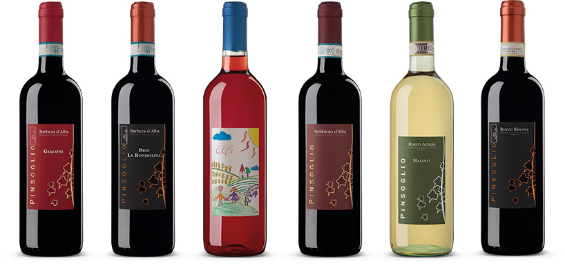 Wines our 6 Labels
